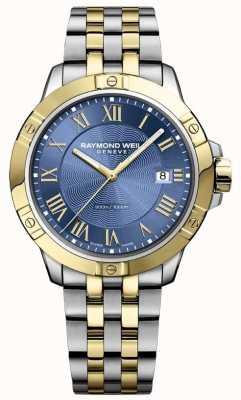 Raymond Weil Montre homme tango | bracelet en acier inoxydable | cadran bleu profond | 8160-STP-00508