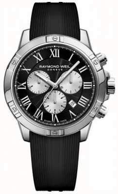 Raymond Weil noir chronographe tango hommes 8560-SR-00206