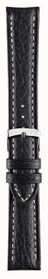 Morellato Courroie seulement - Bracelet en cuir véritable en cuir véritable Kuga 18 pouces Kuga A01U3689A38019CR18