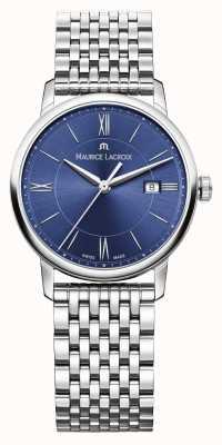 Maurice Lacroix Femmes Bracelet en acier inoxydable cadran bleu EL1094-SS002-410-1