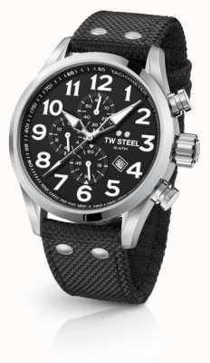 TW Steel Chronographe volante noir noir 45 mm VS3