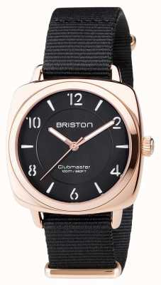Briston Clubmaster chic noir pvd or rose 17536.SPRG.L.1.NB