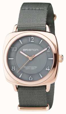 Briston Clubmaster unisexe chic gris pvd or rose 17536.SPRG.L.17.NG
