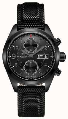 Hamilton Khaki field auto chrono * montre du jack Ryan de Tom Clancy * H71626735