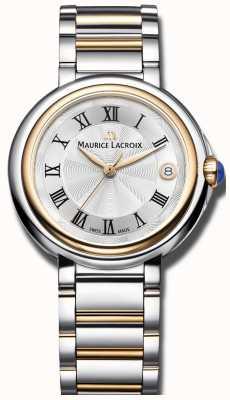 Maurice Lacroix Fiaba 36 mm deux tons en acier inoxydable dames FA1007-PVP13-110-1