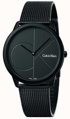 Calvin Klein Bracelet en maille mince en acier inoxydable minimal K3M514B1