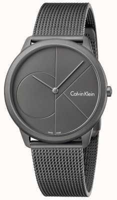 Calvin Klein Bracelet en maille mince en acier inoxydable minimal K3M517P4