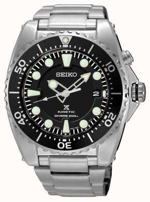 Seiko Bracelet plongeur en acier inoxydable prospex cinétique pour homme SKA761P1