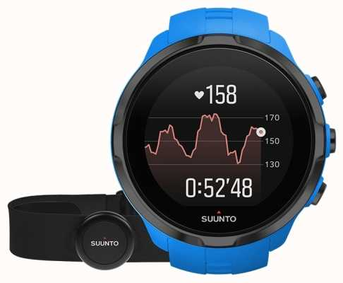Suunto Spartan sport poignet hr bleu avec ceinture SS023365000