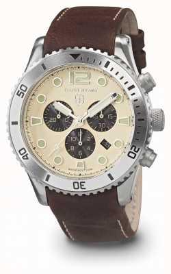 Elliot Brown Crème bloxworth pour hommes et bracelet en cuir huilé 929-014-L18