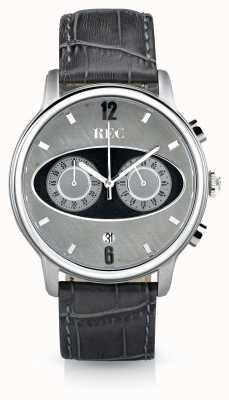 REC Mark 1 m2 chronographe bracelet en cuir gris M2