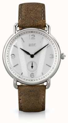 REC Cooper c2 bracelet en cuir de veau marron C2