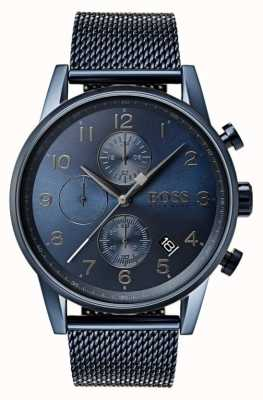 Hugo Boss Montre à quartz bleu 1513538