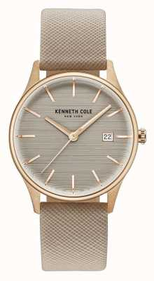 Kenneth Cole Bracelet cuir marron marron femme KC15109003