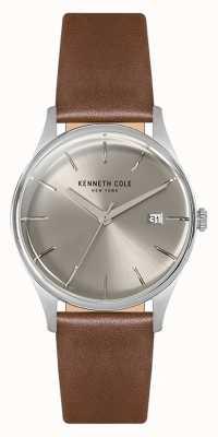 Kenneth Cole Boîtier en acier inoxydable 35 mm Womans argenté KC15109005