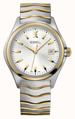 EBEL Montre homme en or bicolore Wave 1216202