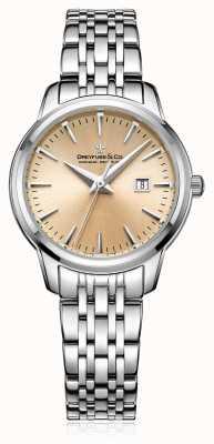 Dreyfuss Bracelet en acier à cadran champagne femme DLB00125/25