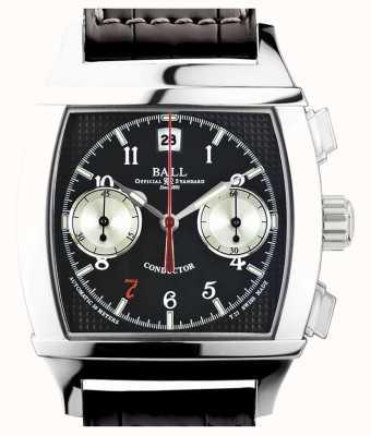 Ball Watch Company Vanderbilt black dial chronographe édition limitée chef d'orchestre CM2068D-LJ-BK
