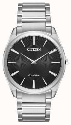 Citizen Acier inox ultra-mince élastique pour hommes AR3070-55E