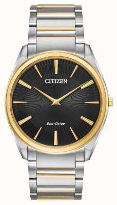Citizen | hommes | stiletto ultra-mince | bracelet deux tons | AR3074-54E