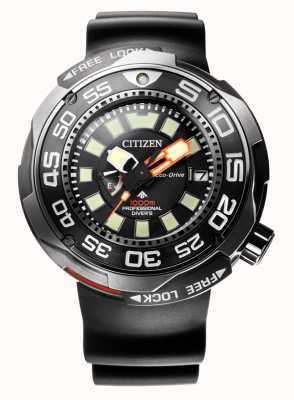 Citizen Promaster marine 1000m eco-drive divers sangle en caoutchouc BN7020-17E