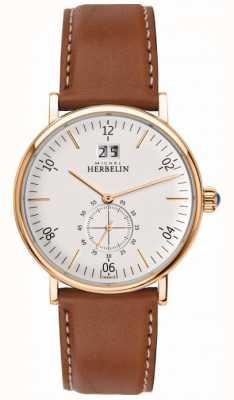 Michel Herbelin Montre chronographe inspiration pour hommes 18247/PR11GO