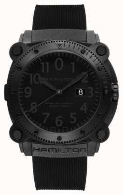 Hamilton Marine kaki inférieure à 1000 mm caoutchouc noir H78585333