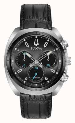 Bulova Chronographe chrono sport pour homme noir 98A155