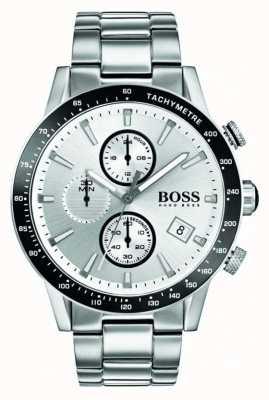 Boss Rafale homme chronographe cadran blanc 1513511