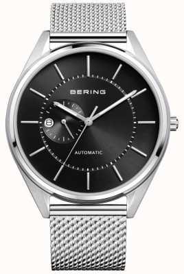 Bering Bracelet automatique automatique en argent milanais pour hommes 16243-077