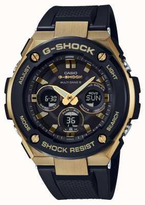Casio Hommes g-shock g-steel dur montre solaire or GST-W300G-1A9ER