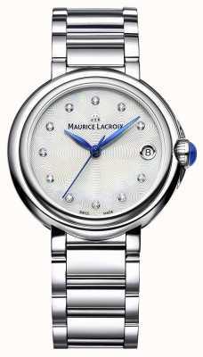 Maurice Lacroix Set de montre femme diamant 32 mm fiaba FA1004-SS002-170-1