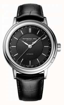 Raymond Weil Mens maestro cuir noir automatique 2851-STC-20001