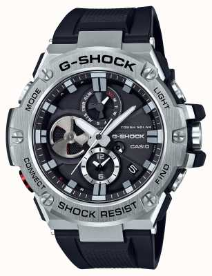 Casio G-acier bluetooth triple connect mens chronographe GST-B100-1AER