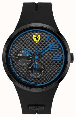 Scuderia Ferrari Silicone noir pour homme 0830395