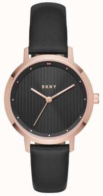 DKNY Womans moderniste noir rose or NY2641