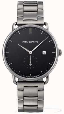 Paul Hewitt Grand bracelet atlantique en acier inoxydable PH-TGA-GM-B-4M