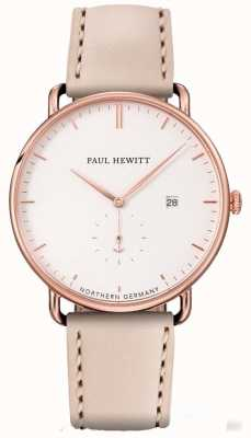 Paul Hewitt Womans the grand boîtier en acier inoxydable rose orangé PH-TGA-R-W-22S