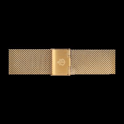 Paul Hewitt Bracelet en maille d'acier inoxydable d'or taille m PH-M1-G-4M