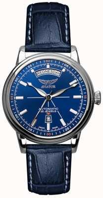Aviator Montre homme douglas day date bleu V.3.20.0.145.4