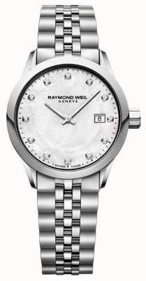 Raymond Weil Cadran de nacre indépendant pour femme 5629-ST-97081