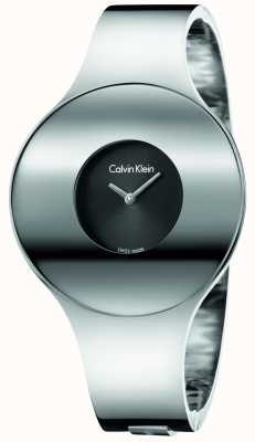 Calvin Klein Womans argent en acier sans soudure petite montre K8C2S111