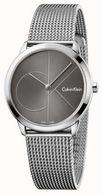 Calvin Klein Montre minimale Womans montre gris K3M22123