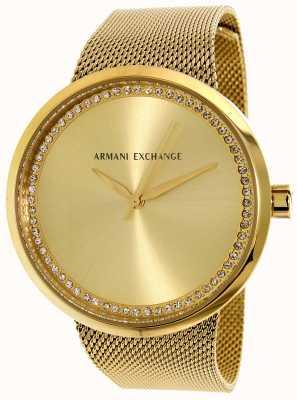 Armani Exchange Womans liv en acier inoxydable AX4502