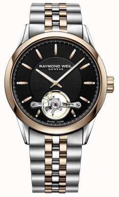 Raymond Weil Freelancer automatique | bracelet en acier inoxydable deux tons | 2780-SP5-20001