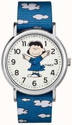Timex Montre bracelet bleu lucy TW2R413006B