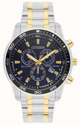 Citizen Mens | eco-drive | bracelet en acier inoxydable | cadran noir | BL5514-53L
