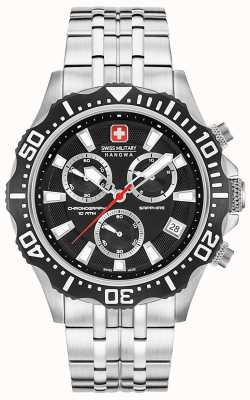 Swiss Military Hanowa Chronographe de patrouille homme noir mat 06-5305.04.007