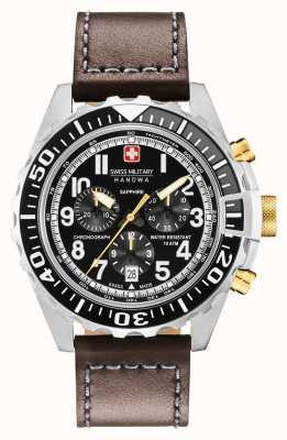 Swiss Military Hanowa Montre chronographe pour homme en acier inoxydable 06-4304.04.007.05