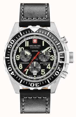 Swiss Military Hanowa Montre chronographe pour homme en acier inoxydable 06-4304.04.007.07